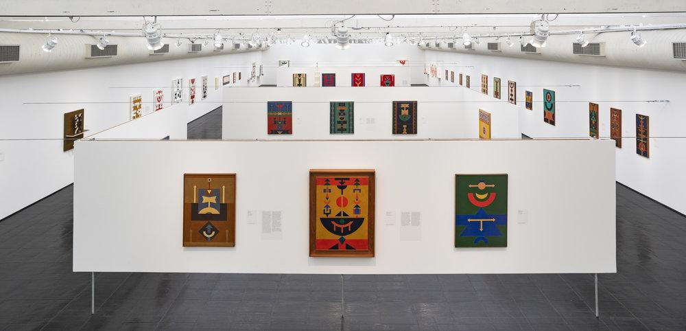 21.  Rubem Valentim: Afro-Atlantic Constructions  exhibition at Museu de Artes de São Paulo (MASP). Courtesy of MASP, São Paulo.