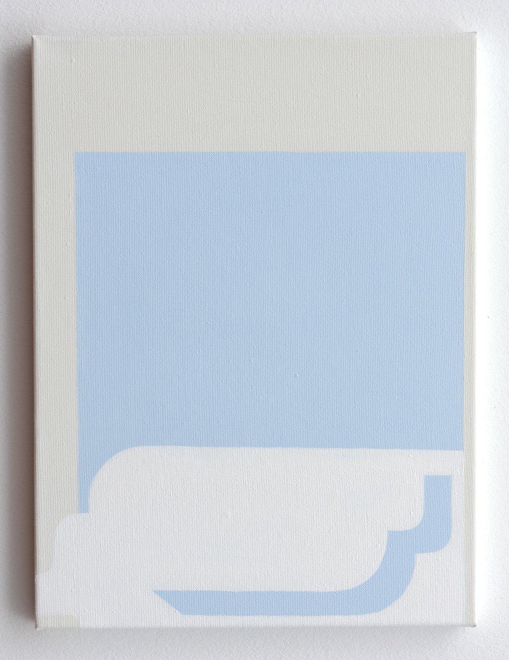 24.  Blue Brut c , Lina Kim, 2018. Casanova Art Gallery, São Paulo - London Art Fair. Courtesy of Casanova Art Gallery.