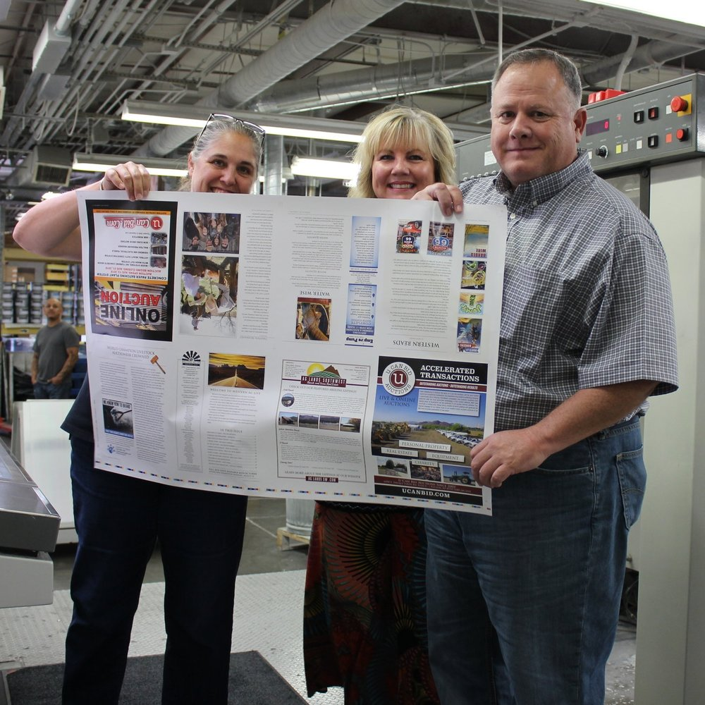 The first issue, hot off the press!