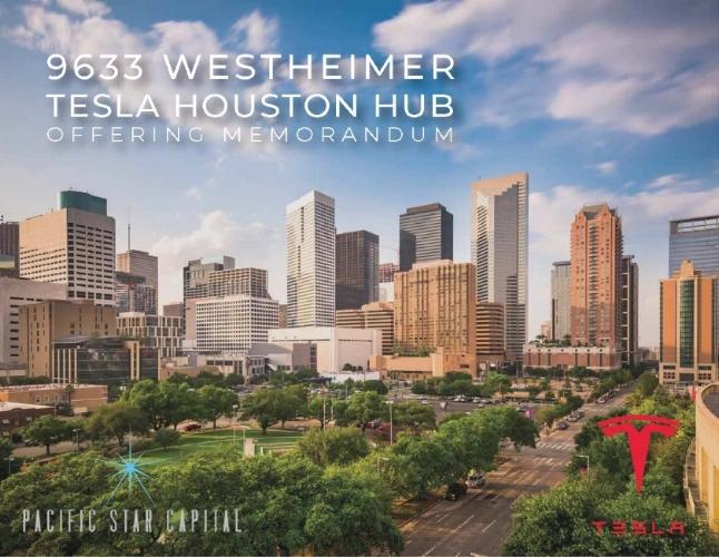 Pacific Star Capital / Tesla - Offering memorandum.