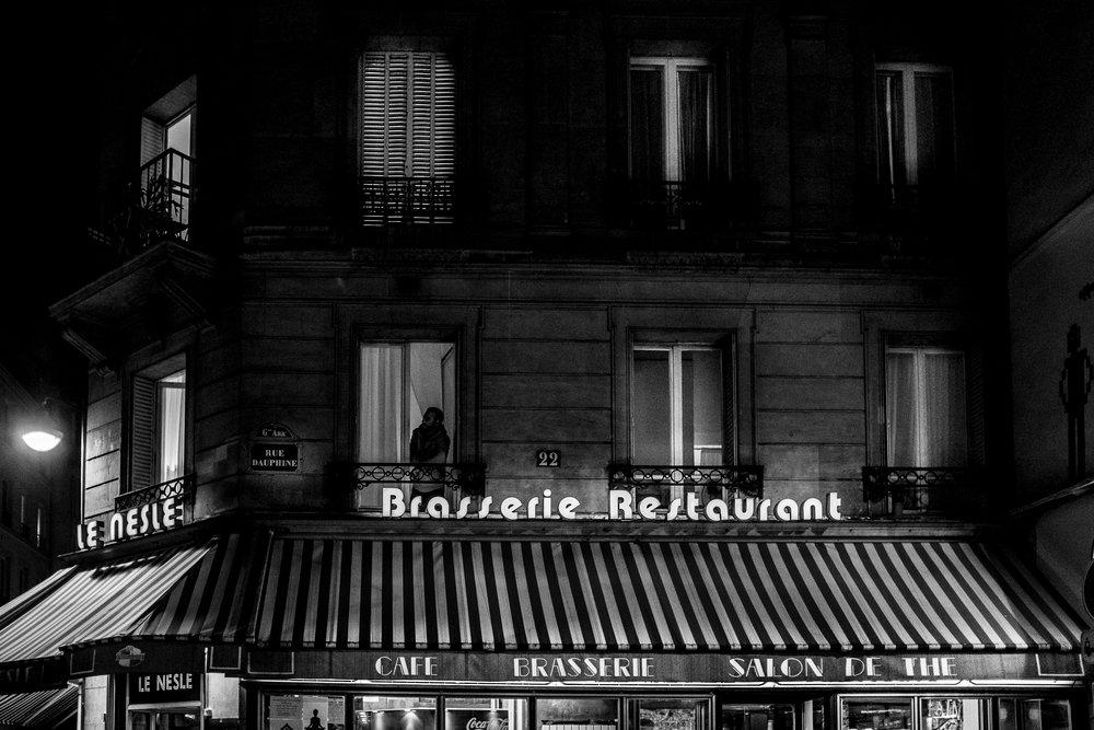 "PBrasserie , Paris, France 14""x20"" Edition of 15"
