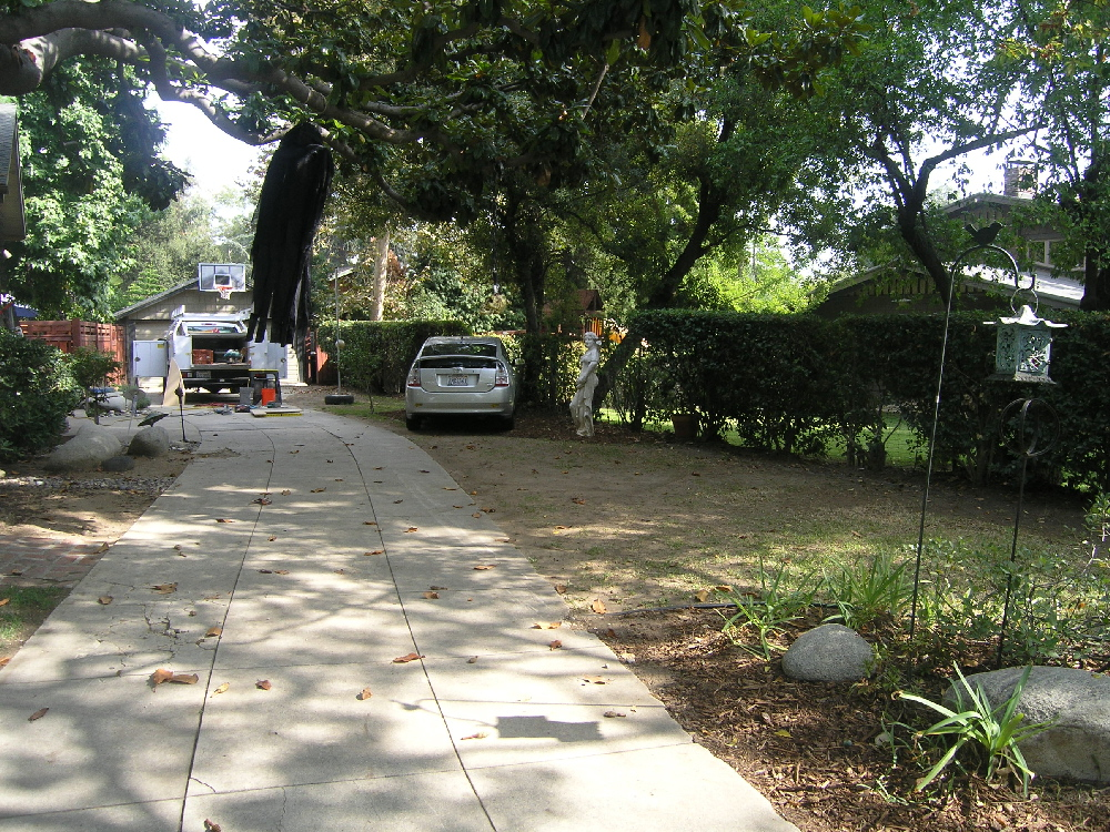 liddy brown driveway before