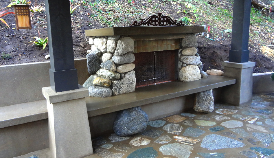 Corser fireplace 2
