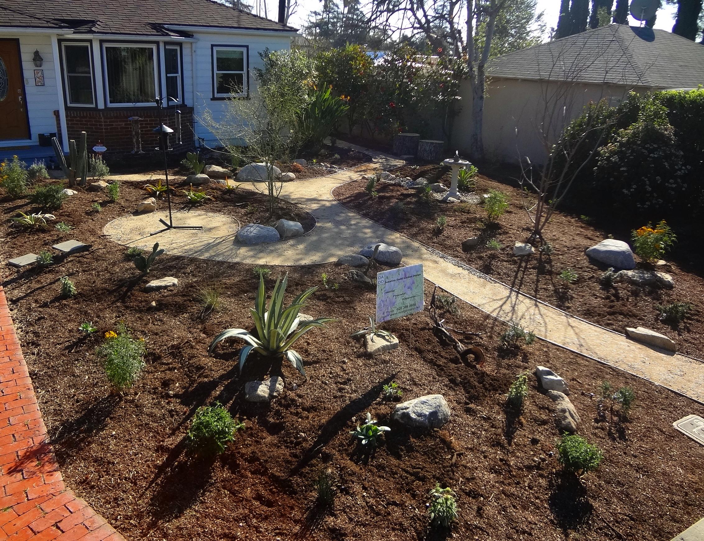Moyd residence, Pasadena — Real Gardens