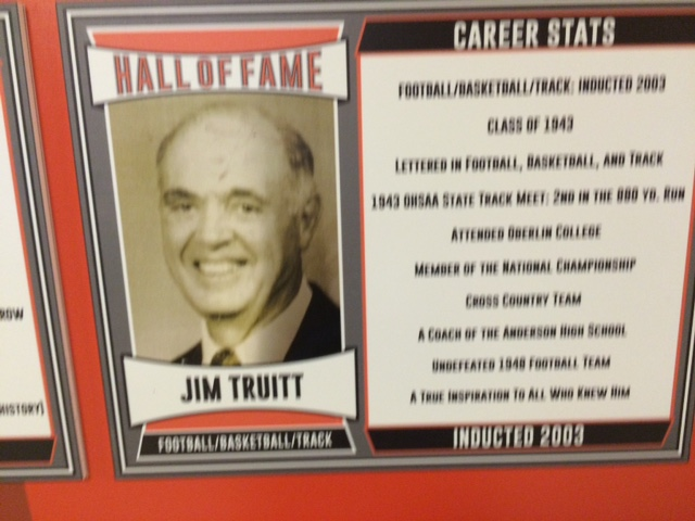 2003 Inductee, Lettered in Football, Basketball & Track, A True Inspiration to All That Knew Him