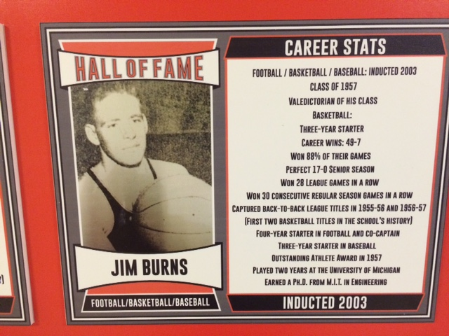 2003 Inductee, Football/Basketball/Baseball, Four-Year Starter in Football, Co-Captain, Played Two Years at University of Michigan
