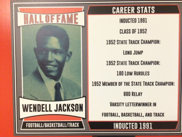 1991 Inductee, Varsity Letter Winner in Football, Basketball, & Track.
