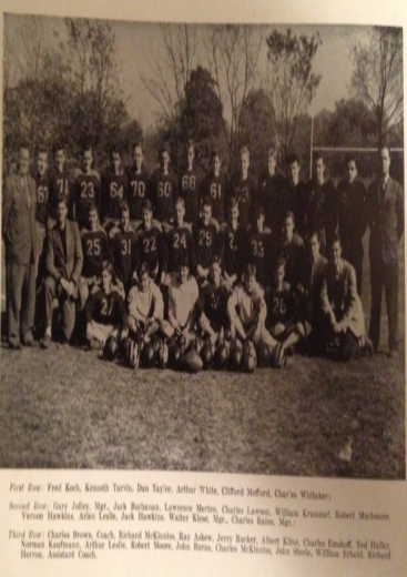 1946 - 8 Man FootballColerain 34-7 WinMt.Healthy 33-6 WinLoveland 34-6 WinGlendale 41-0 WinMaderia 45-8 WinTerrace Park 27-14 LossColerain 47-22 WinRecord 6-1 Coach Brown
