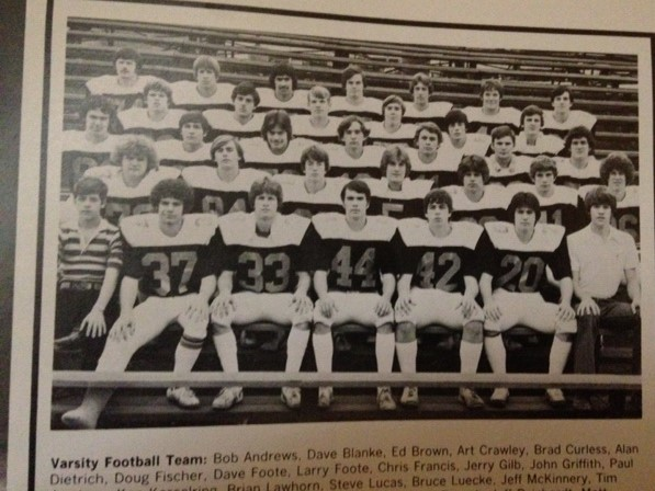 1977 - Mcnick 62-7 lossMariemont 29-8 LossMt.Healthy 30-7 LossNorwood 17-7 LossNorthwest 38-13 LossOak Hills 57-0 LossColerain 28-8 LossForest Park 16-0 lossTurpin 39-16 LossIndian Hill 40-13 LossRecord 0-10 Coach Goodridge