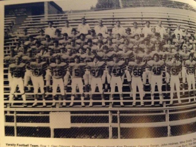 1984 - Mcnick 30-6 LossMilford 28-14 WinOak Hills 28-7 LossTurpin 21-0 WinNorthwest 14-10 LossCAPE 28-14 LossMt. Healthy 21-7 LossForest Park 34-21 LossColerain 47-14 LossGlen Este 28-0 WinRecord 3-7 Coach Stowe