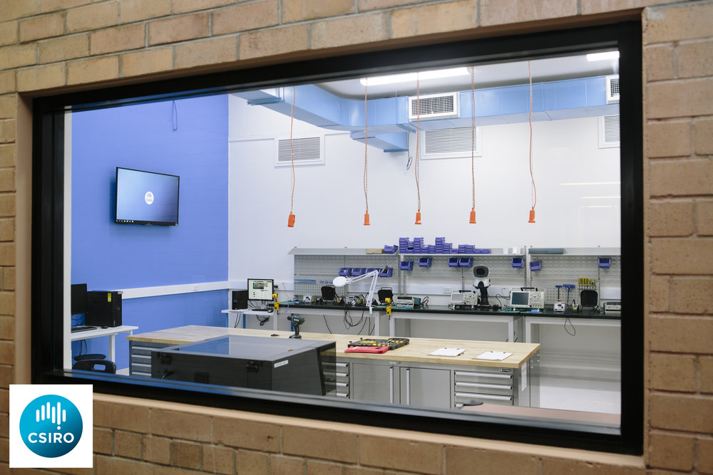 The Lindfield Makerspace, a prototyping facility designed to complement hardware startups