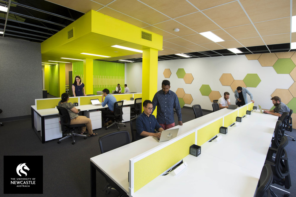 UON's Three76 Hub (Hunter St) is home to high-growth potential startups