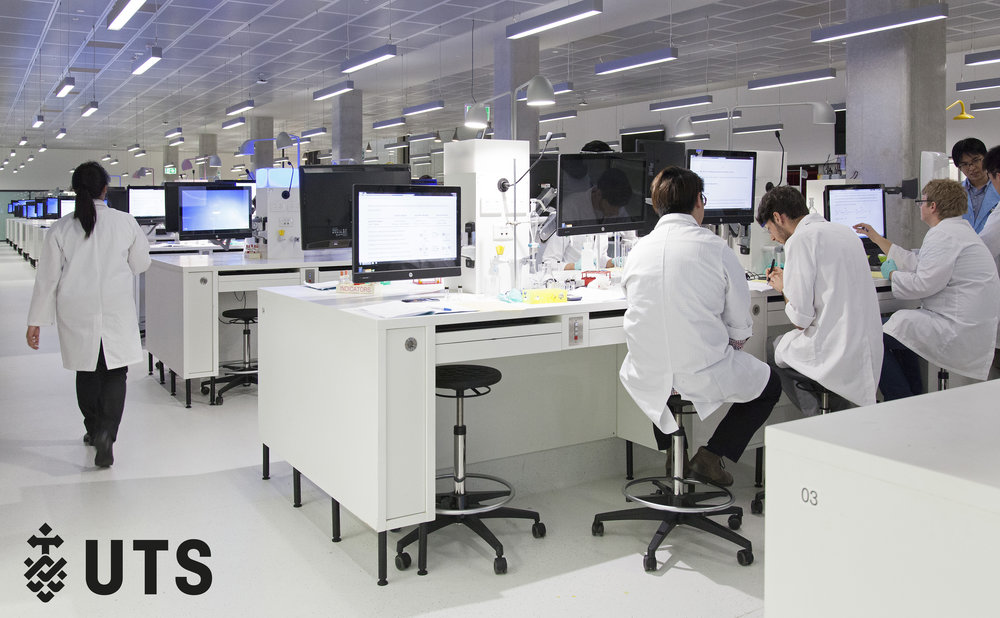One of only two in Australia, UTS's Science Super Lab is a multi-disciplinary space featuring cutting-edge equipment and technology