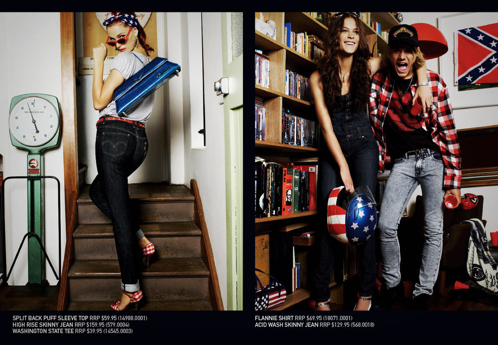 Levi's Americana - 7th Spread