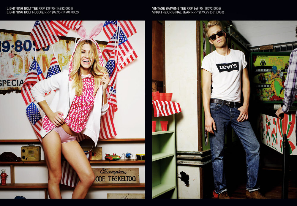 Levi's Americana - 4th Spread