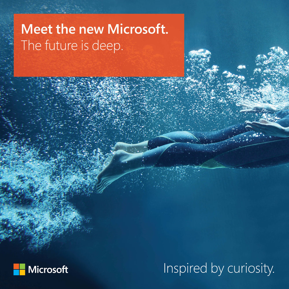Meet the new Microsoft: The future is deep