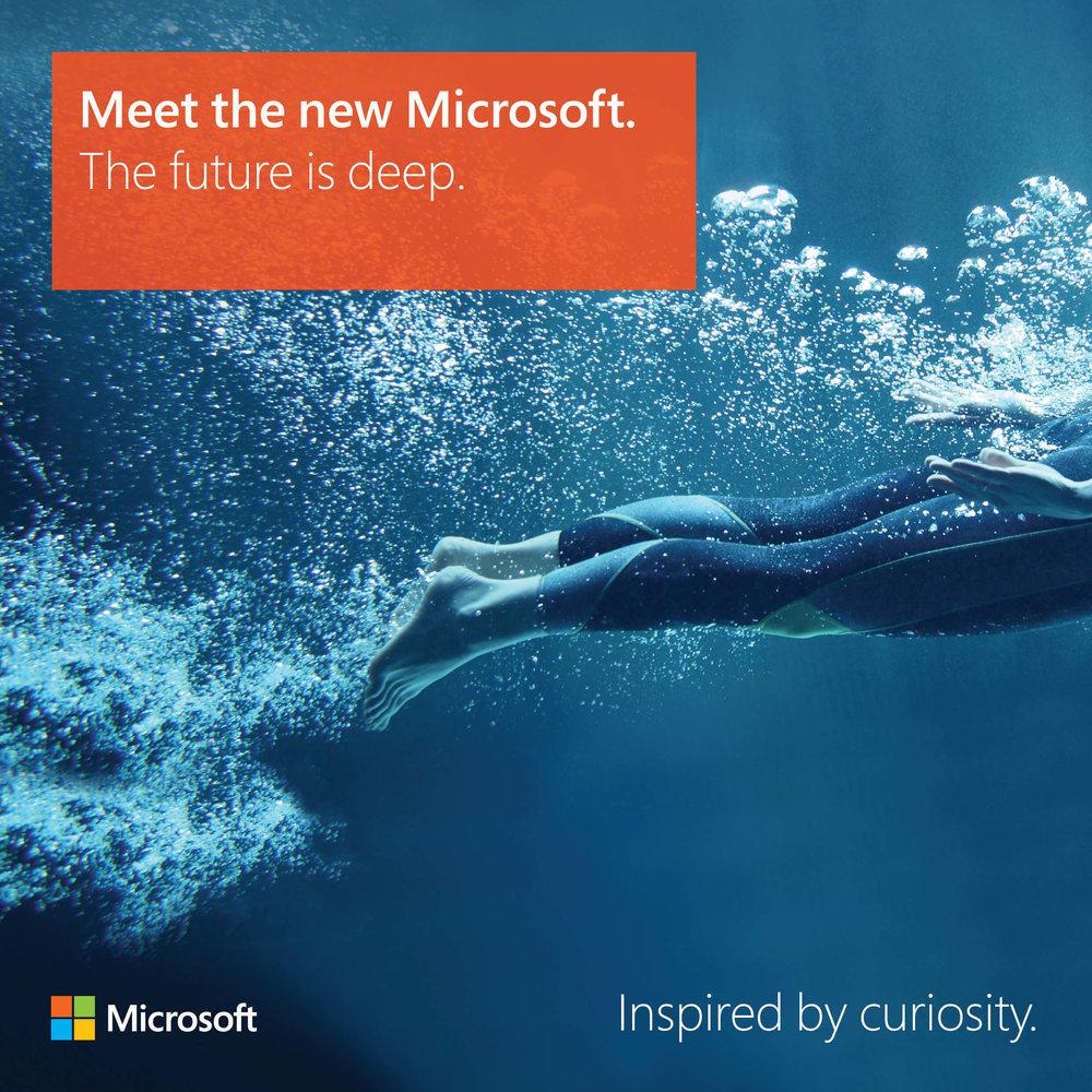 Meet the new Microsoft: The future is deep