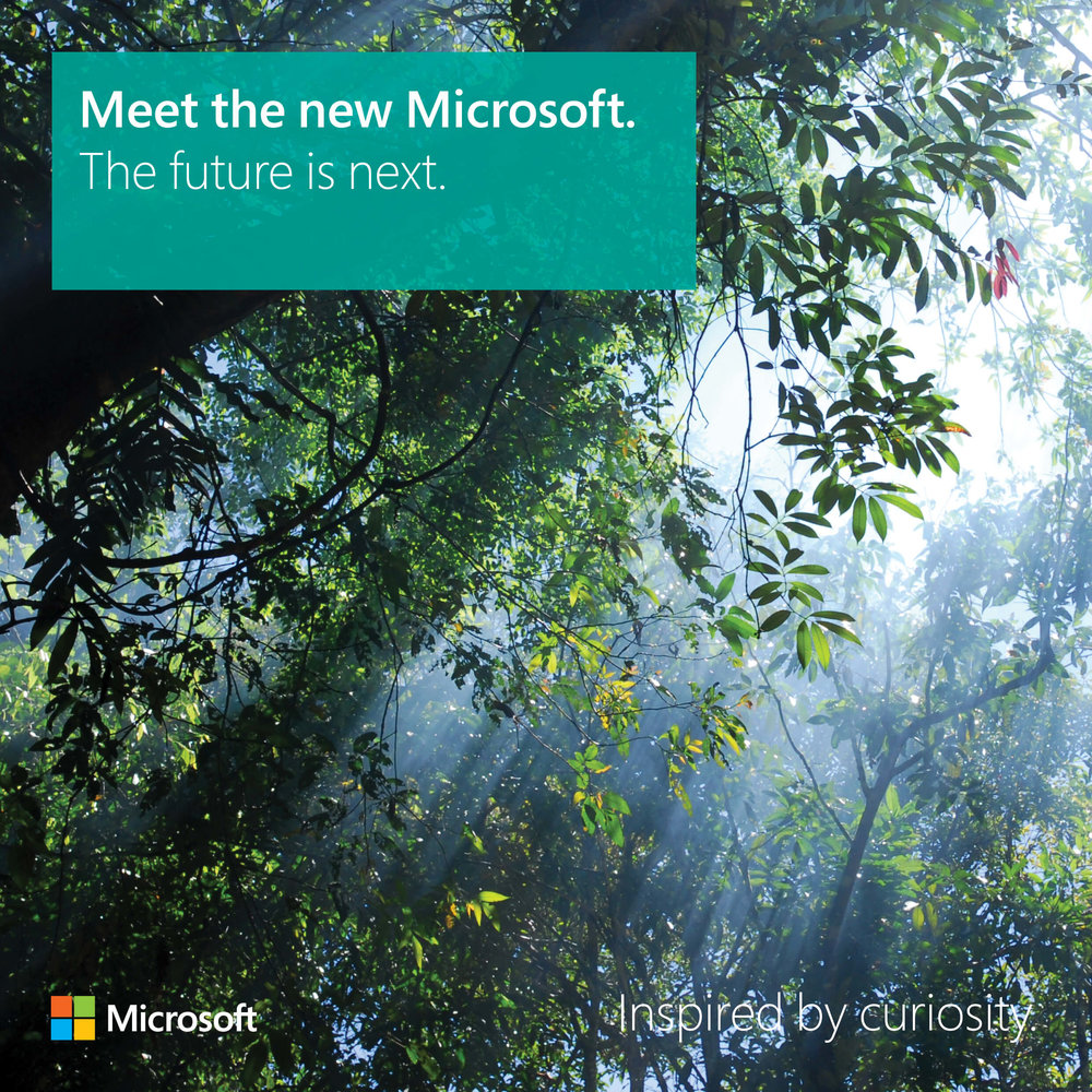 Meet the new Microsoft: The future is next