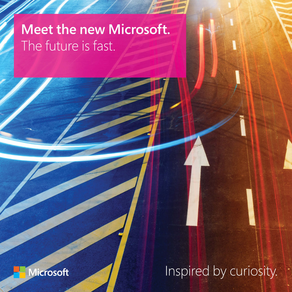 Meet the new Microsoft: The future is fast