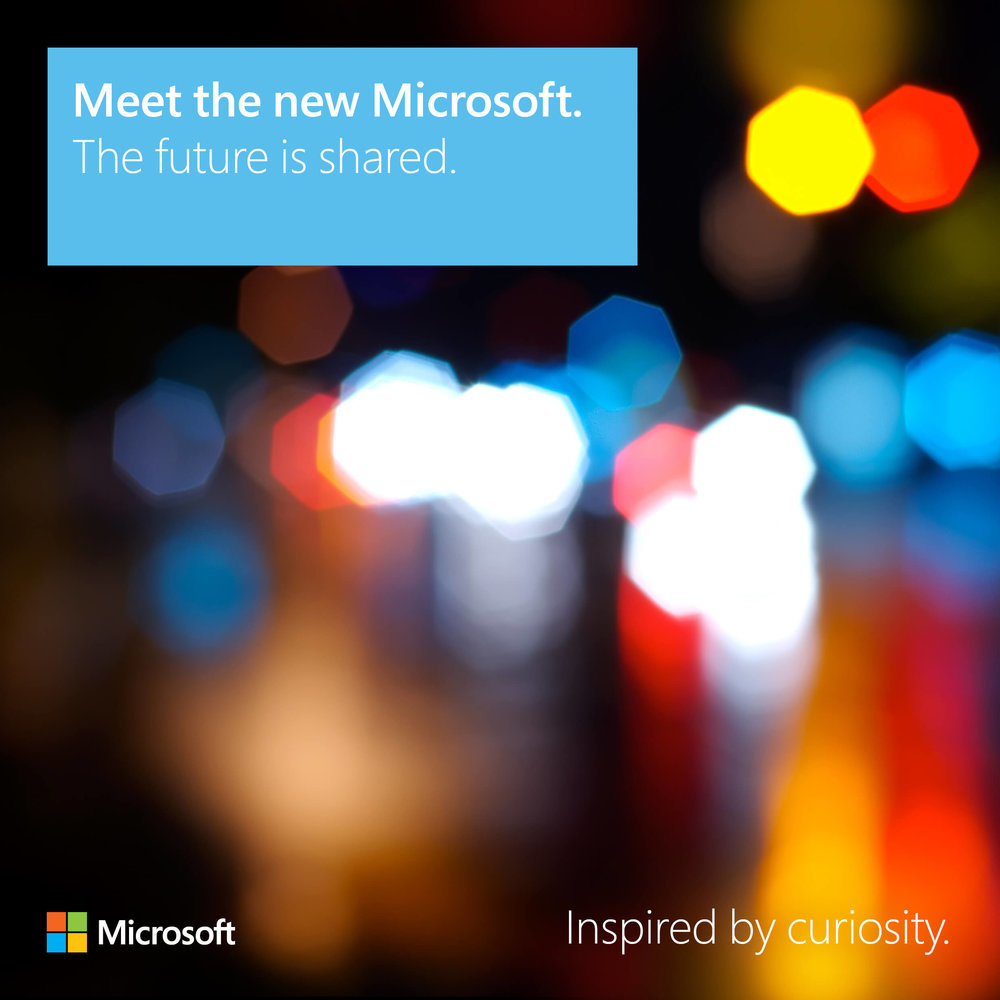 Meet the new Microsoft: The future is shared