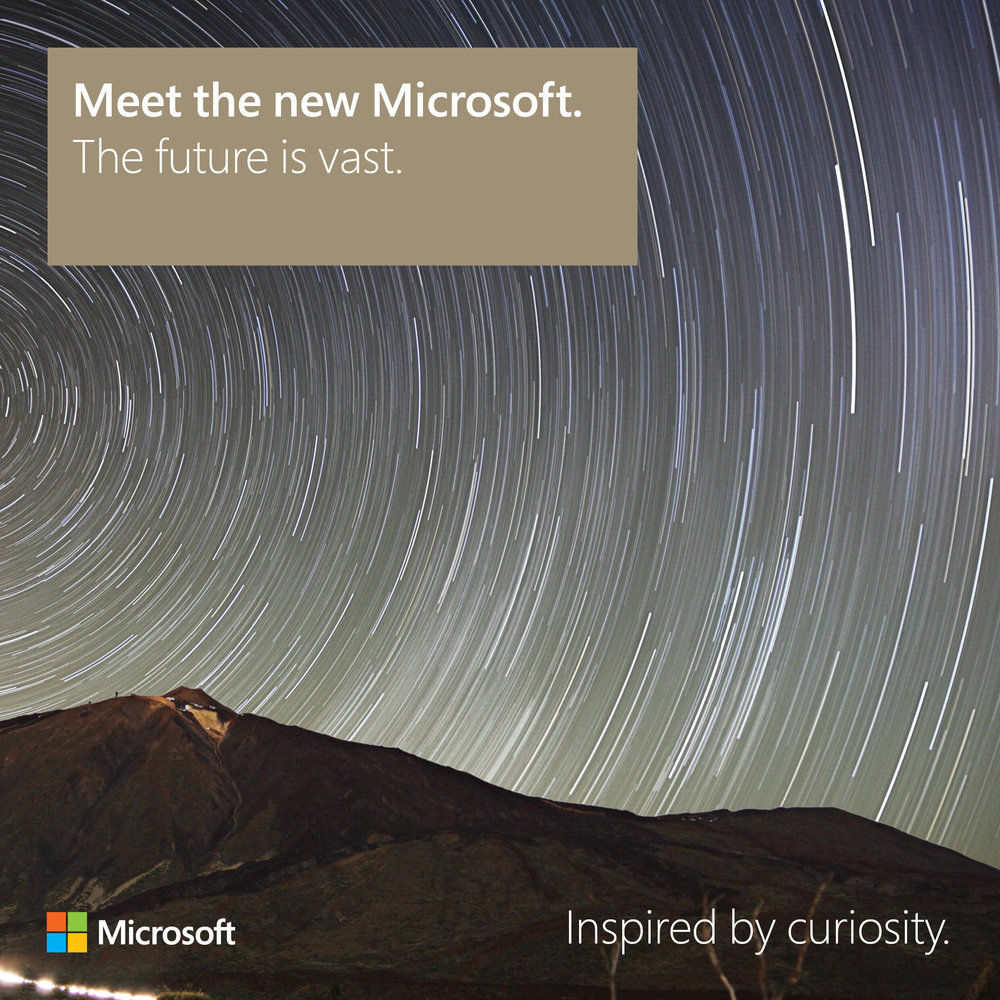 Meet the new Microsoft: The future is vast