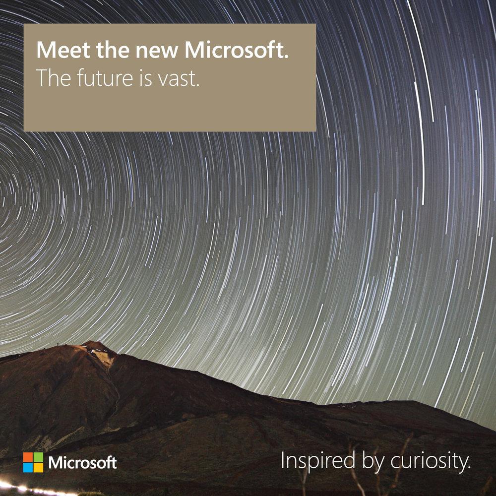 Meet the new Microsoft: The future is vast