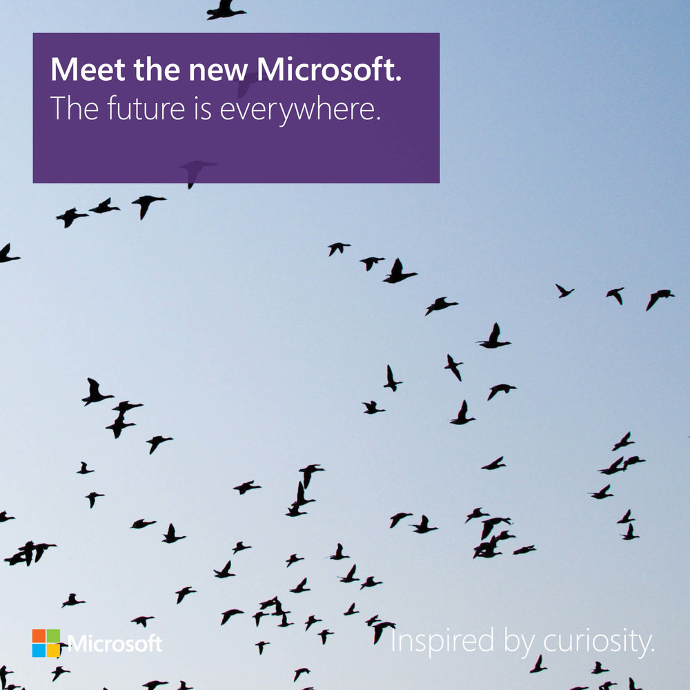 Meet the new Microsoft: The future is everywhere