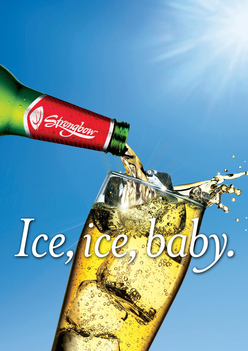 "Strongbow: Strong on Ice - ""Ice, Ice, Baby"""