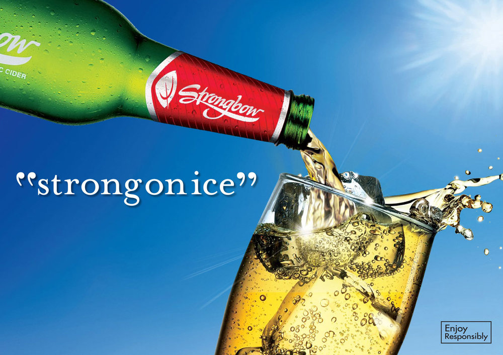 Strongbow: Strong on Ice