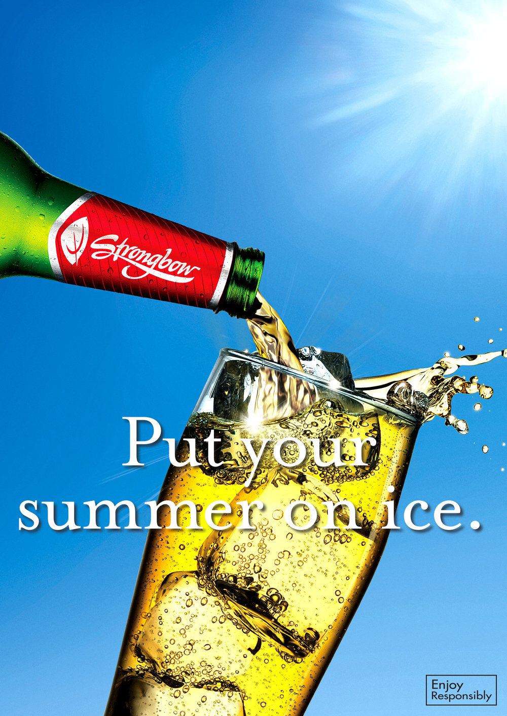 "Strongbow: Strong on Ice - ""Put your summer on ice"""
