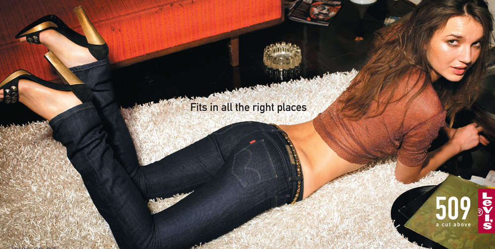 Levi's: A Cut Above - Women's 509 Jeans Outdoor Billboard Ad