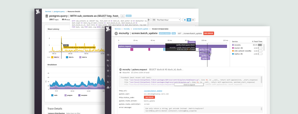 datadog apm: product design