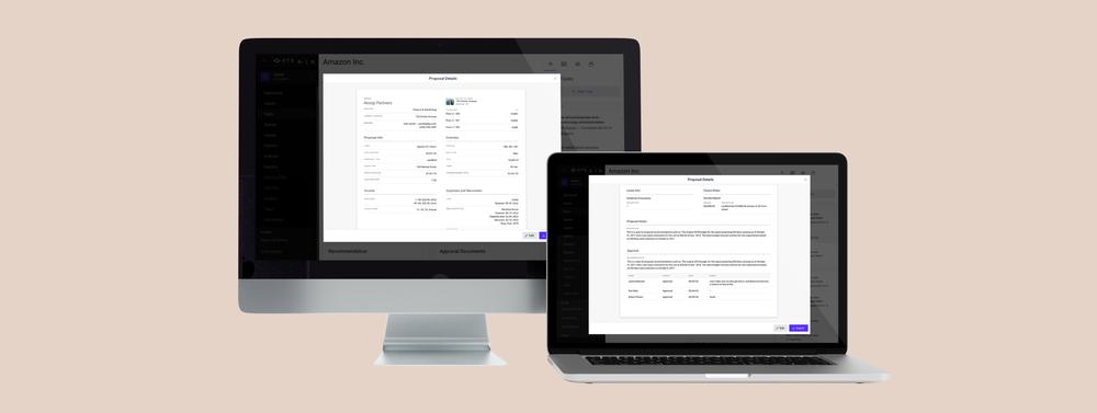 vts proposal details: product design