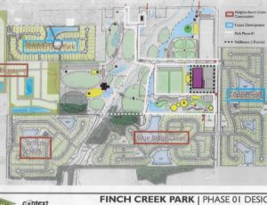 Finch Creek Park Map Noblesville