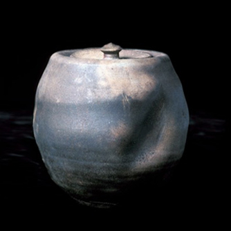 Woodfired Covered Jar with Slash - Museum of Modern Art, NYC