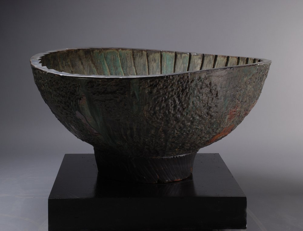 Ovoid Cauldron with Facets - Grounds for Sculpture, New Jersey.jpg
