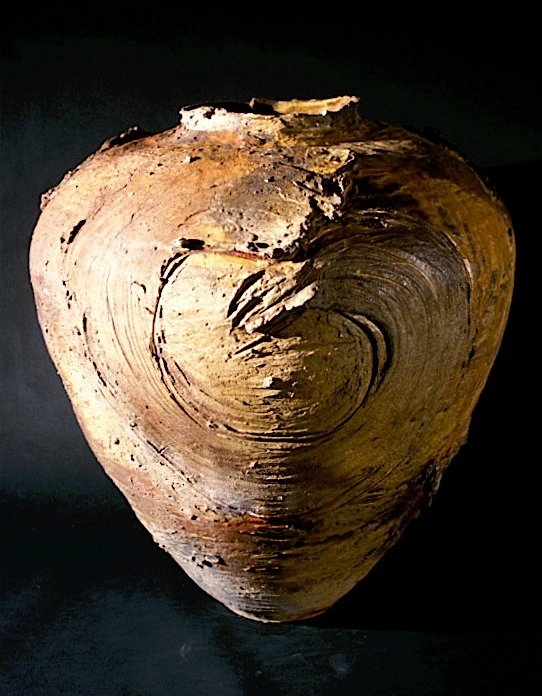 Large Wood-fired Jar Form with Strokes - Yale University Art Gallery, New Haven, CT.jpg