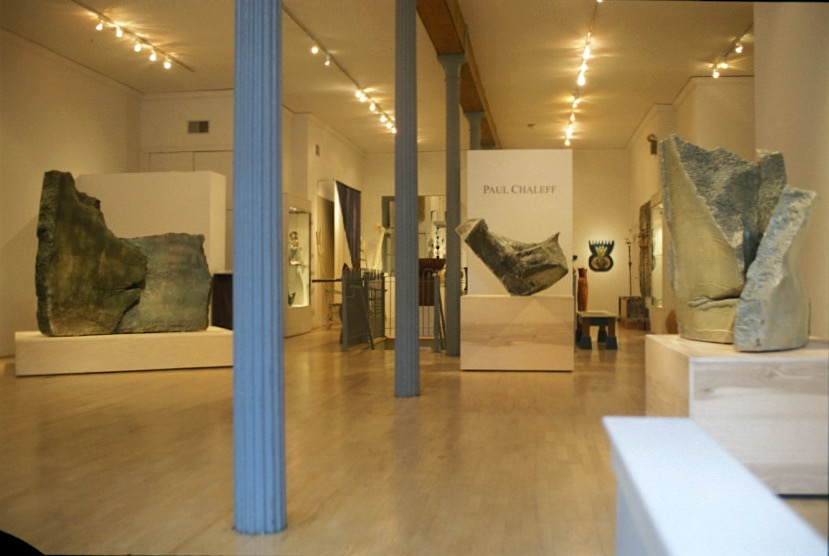 Chaleff Sculpture exhibition at Snyderman Gallery Philadelphia, 2003.jpg