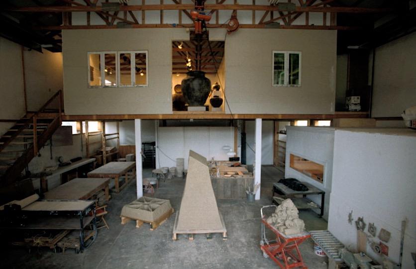 Chaleff Studio in Ancram 1998.jpg