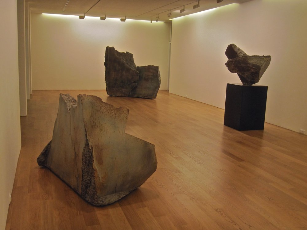 Three Sculptures at Gallery Seomi Seoul 2011.jpg