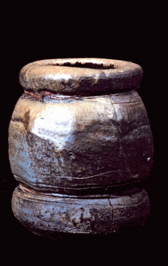 broad vase form with split - museum of modern art