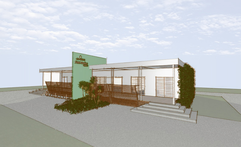 Education Centre  To create a positive learning space from a prefabricated building with poor environmental credentials