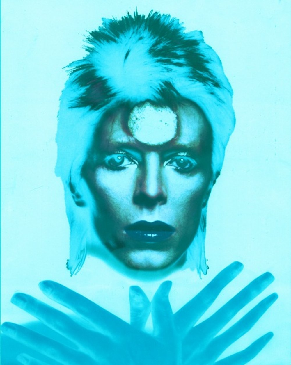 Ziggy Stardust Polychrome: Blue (24 x 20)