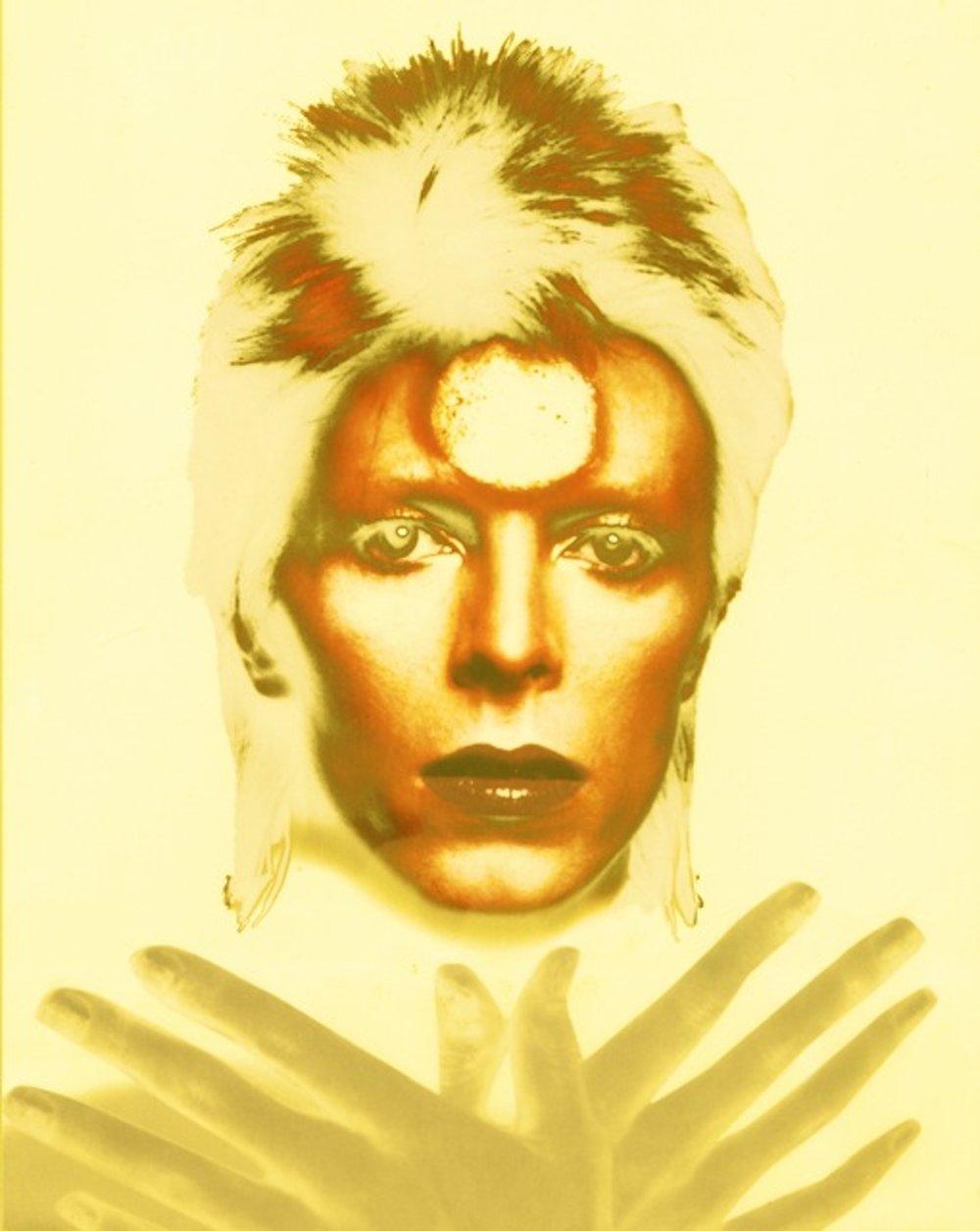 Ziggy Stardust Polychrome: Yellow (24 x 20)
