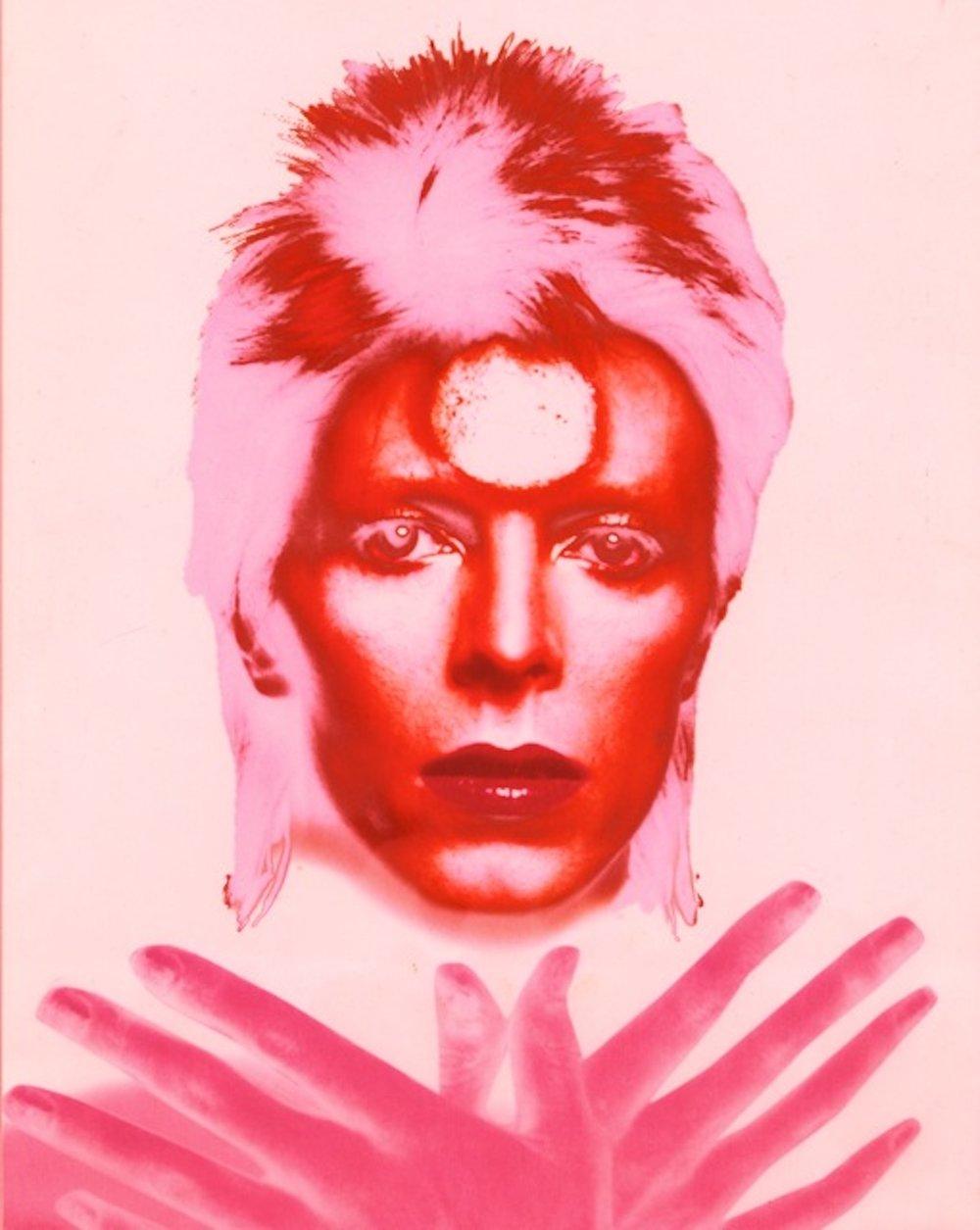 Ziggy Stardust Polychrome: Red (24 x 20)