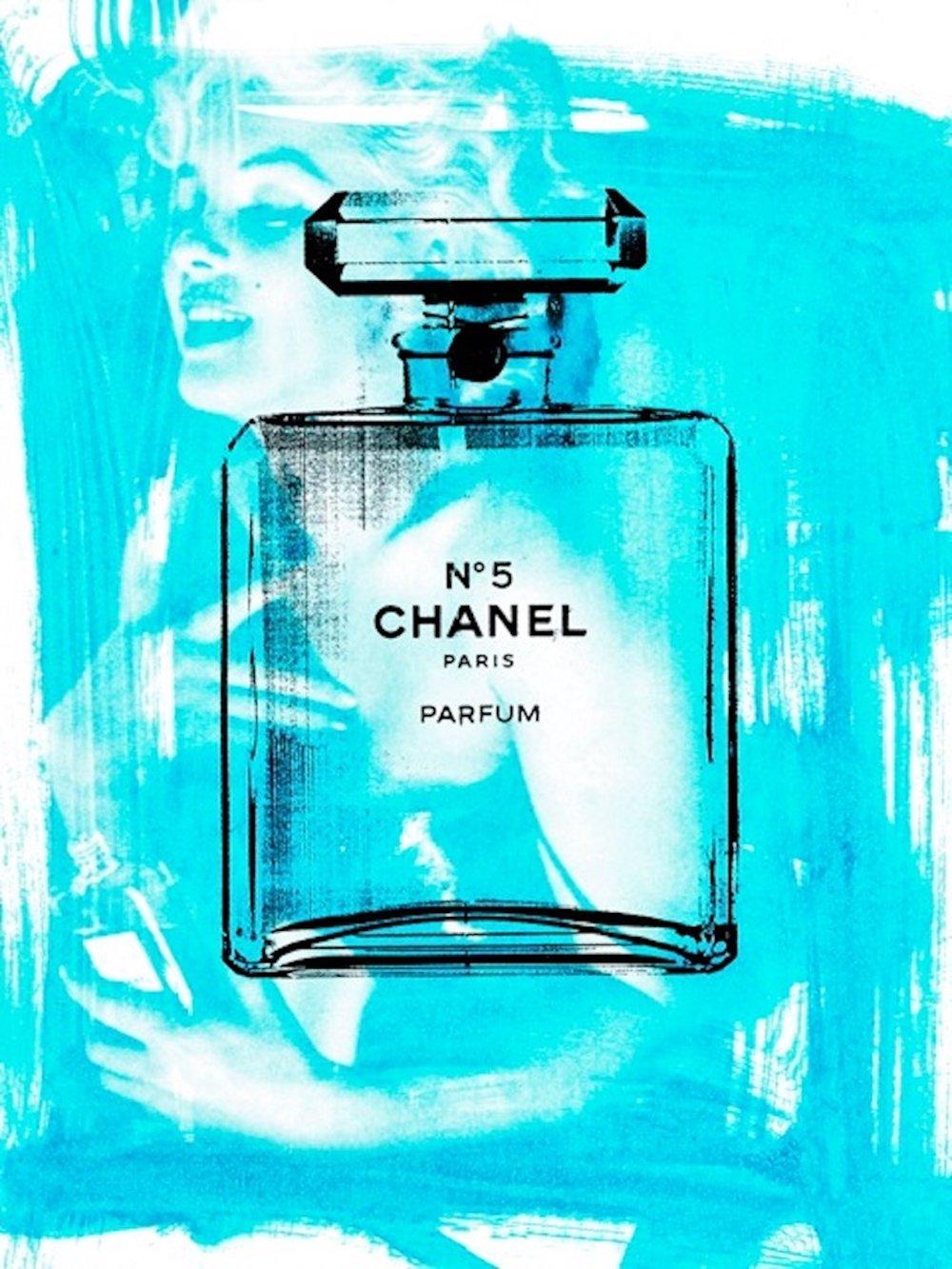 Chanel No. 5: Blue (40 x 30)