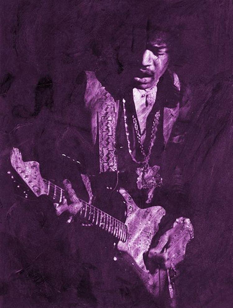 Purple Haze (54 x 40)