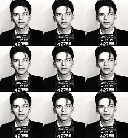 Frank Sinatra Mugshot (39 x 36)