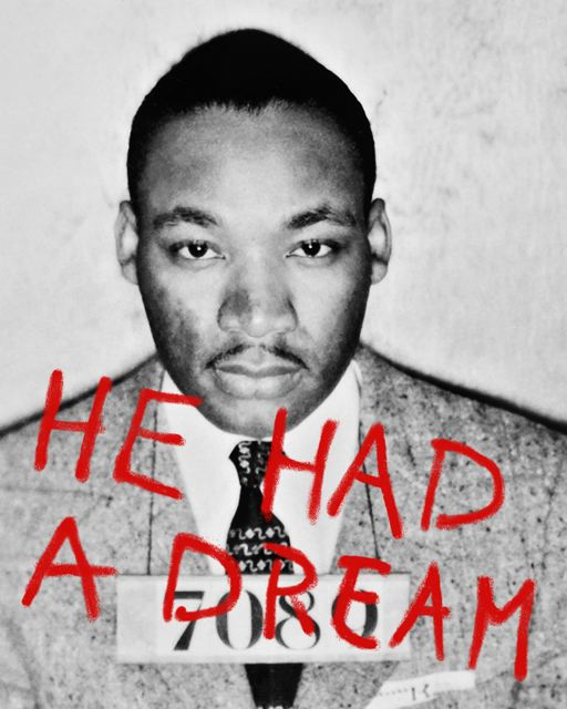 He Had A Dream (48 x 38)