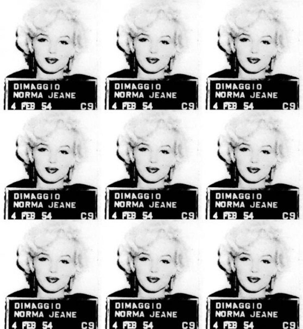 Marilyn Monroe Mugshot (39 x 36)